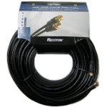 100' RG59 F-Type Video Coaxial Cable - Black