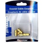 Coaxial Cable Coupler F/F (5 pack)