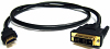3 ft. (1m) HDMI to DVI Home Theatre Cable